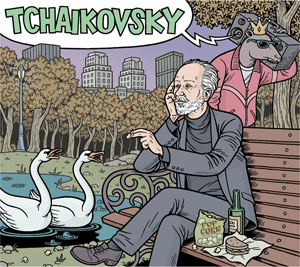 Tchaikovsky CD Cover by Danny Hellman